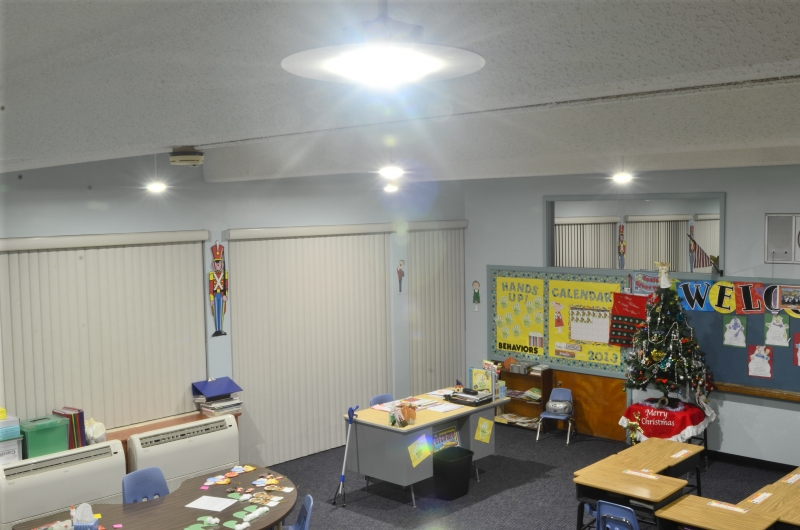 Silescent LED Lighting - Low Bay LED Fixtures 40 watts