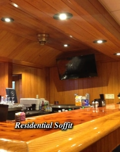 Silescent High Efficiency LED Residential Soffit Fixture