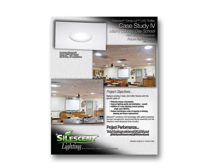 2×2 Troffer LED Lighting Fixture Case StudySilescent