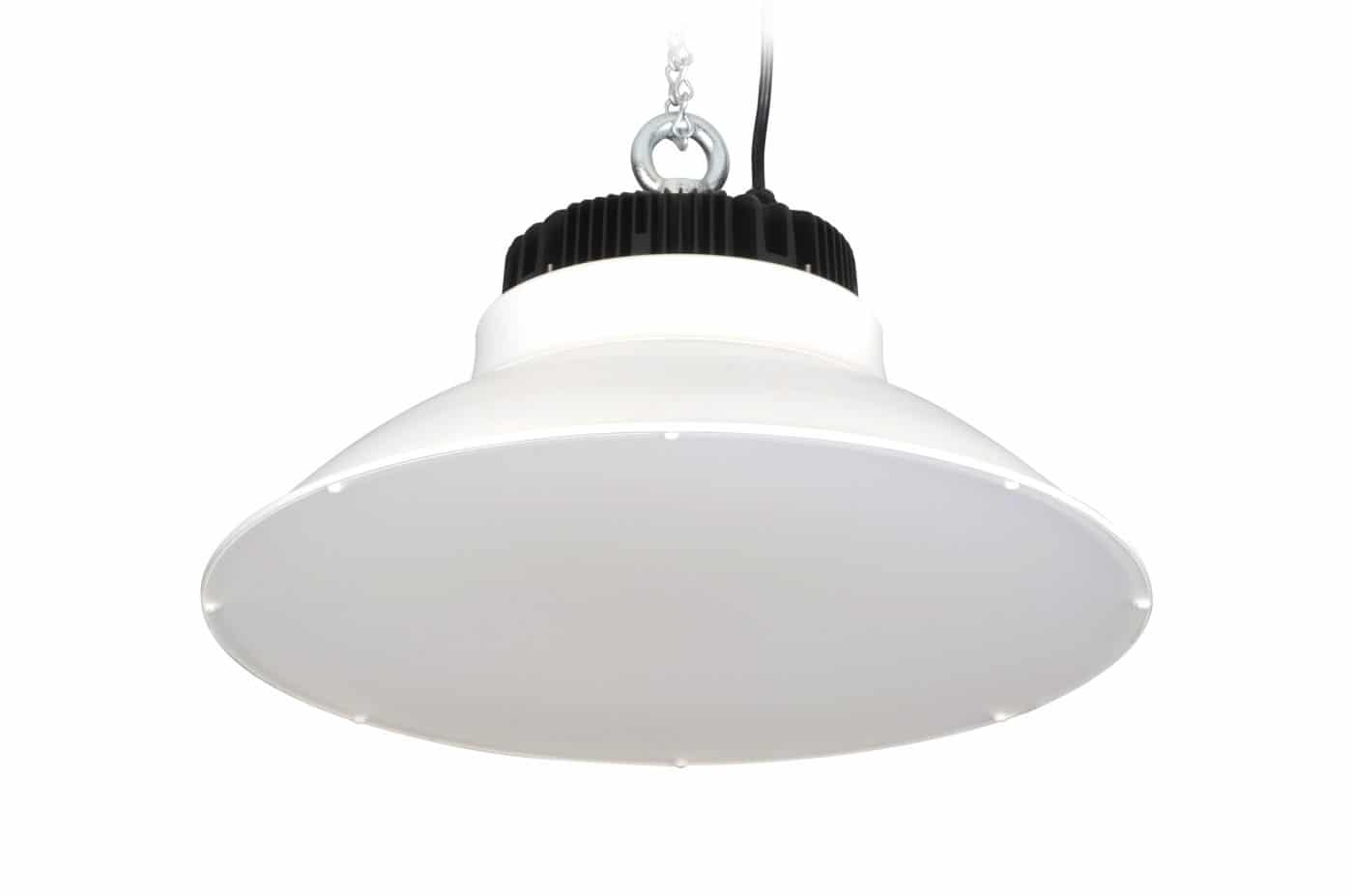 145 Watt Silescent Lighting High Bay LED Lighting Fixture, Reflective