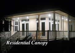 Silescent High Efficiency Canopy Residential LED Fixture