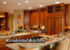 Silescent Lighting Corporation Residential LED Lighting Fixture Installation